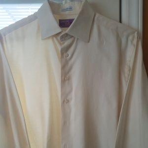 Lorenzo Uomo Ivory Dress shirt